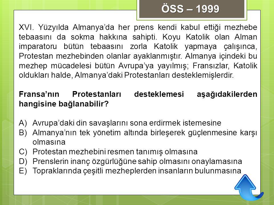 ÖSS – 1999