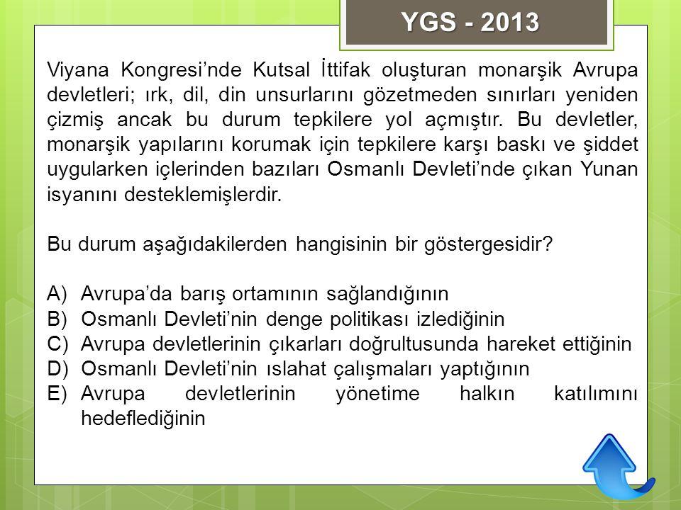 YGS - 2013