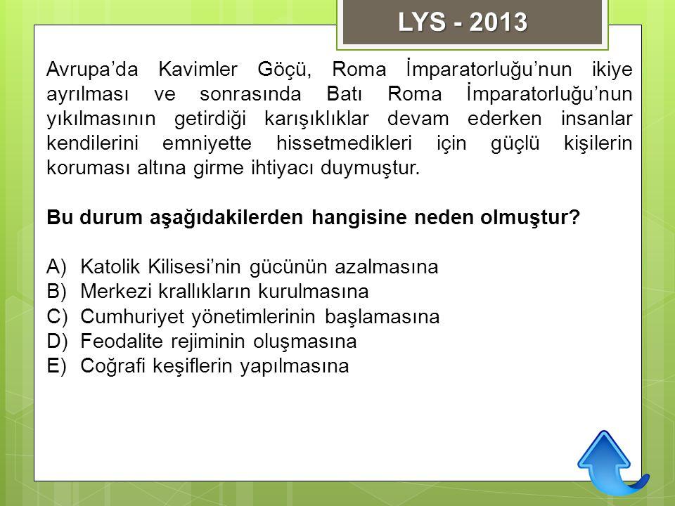 LYS - 2013