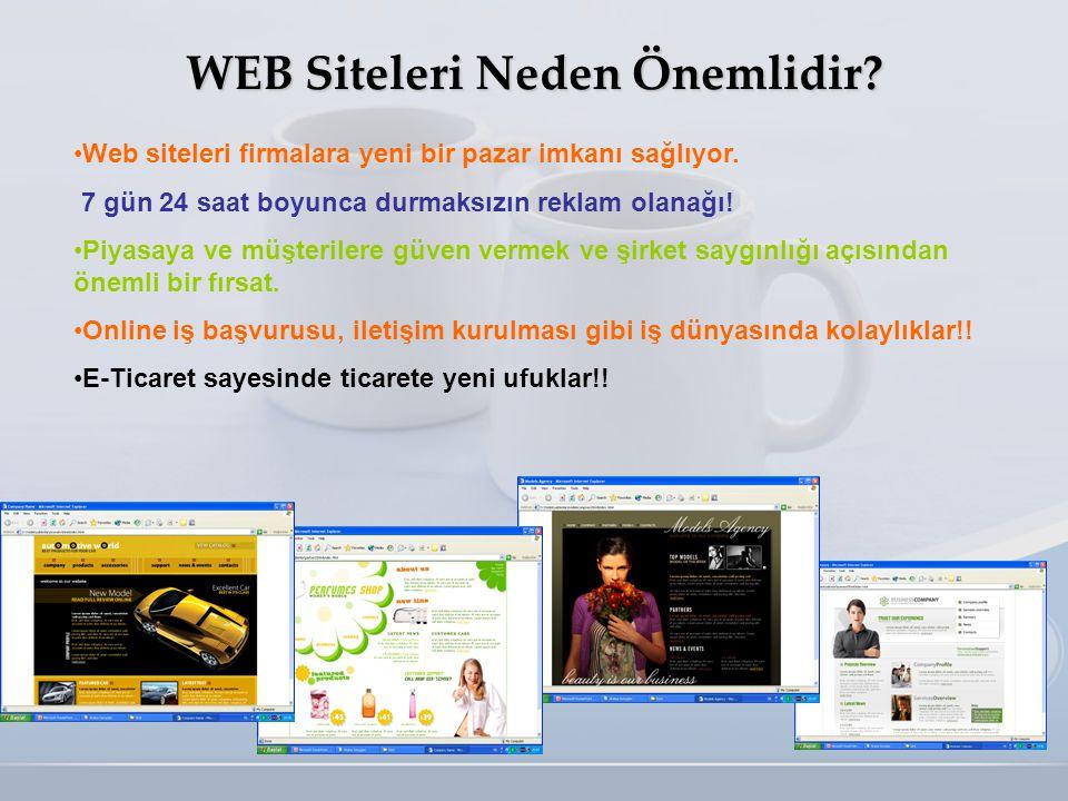 WEB Siteleri Neden Önemlidir