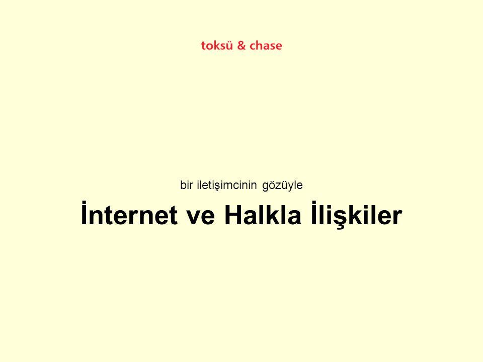 İnternet ve Halkla İlişkiler