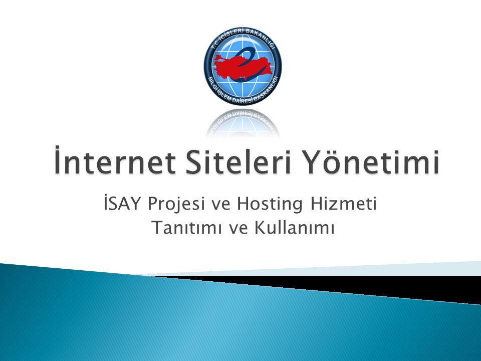 İnternet Siteleri Yönetimi