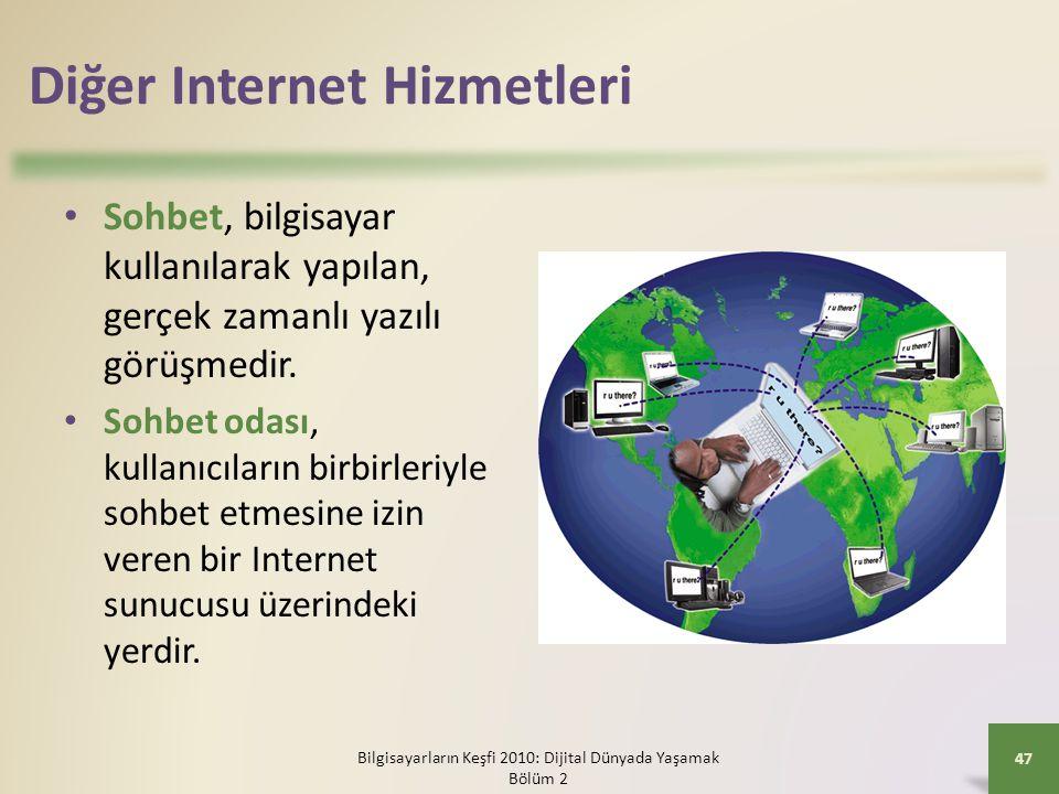 Diğer Internet Hizmetleri