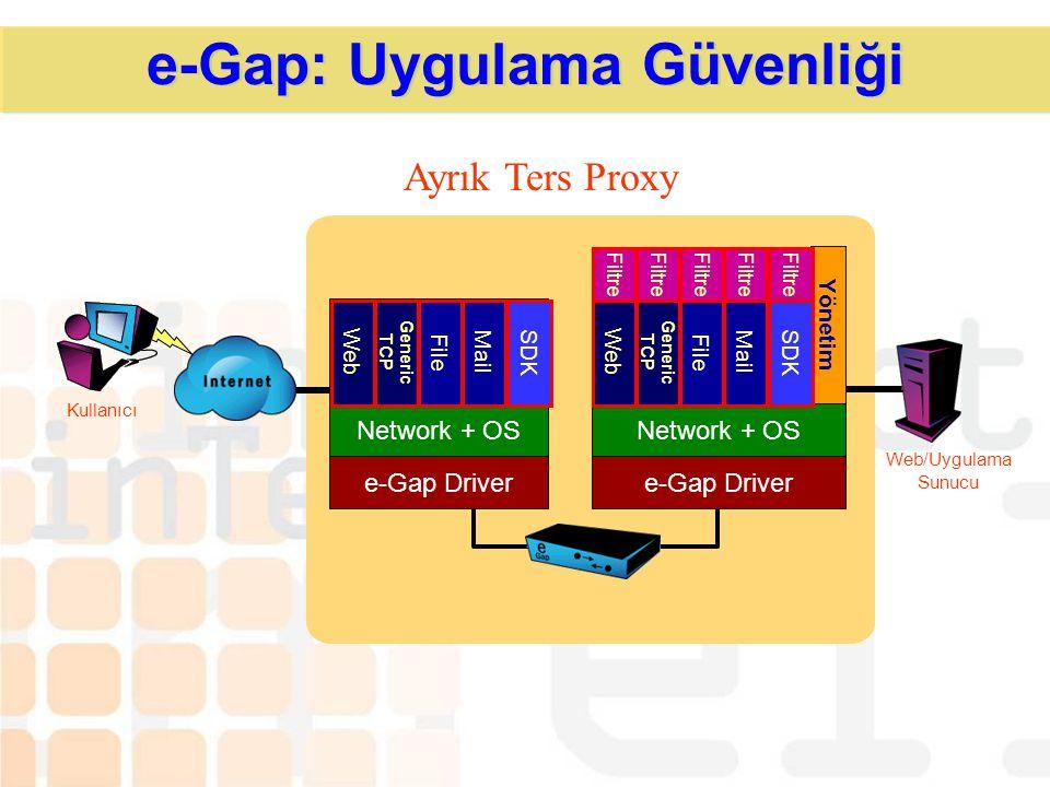 e-Gap: Uygulama Güvenliği