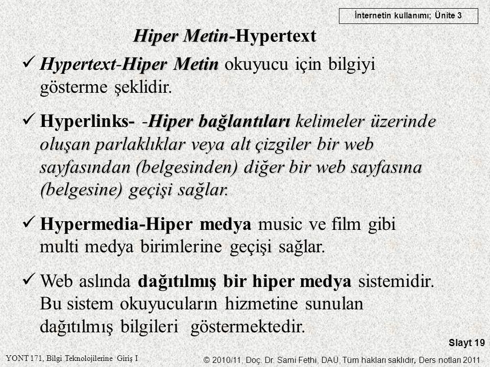 Hiper Metin-Hypertext