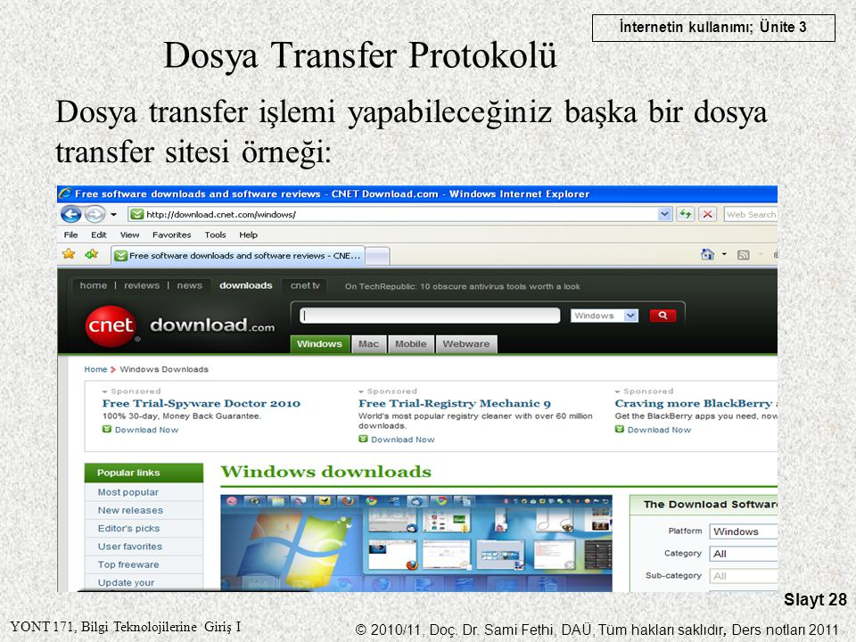 Dosya Transfer Protokolü