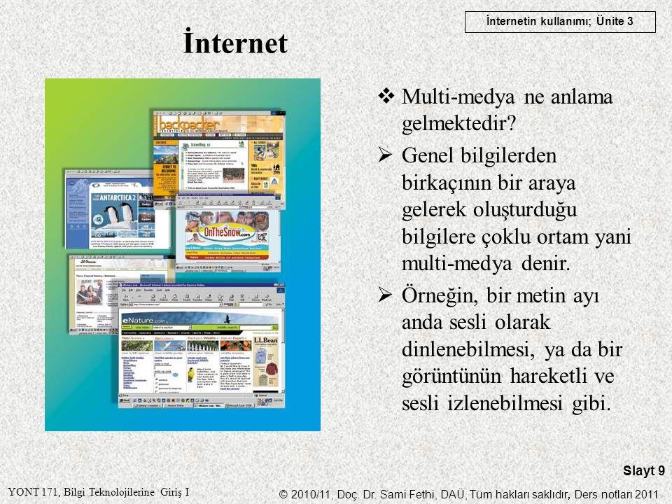 İnternet Multi-medya ne anlama gelmektedir