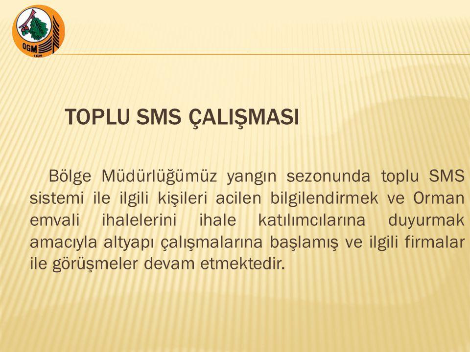 TOPLU SMS ÇALIŞMASI