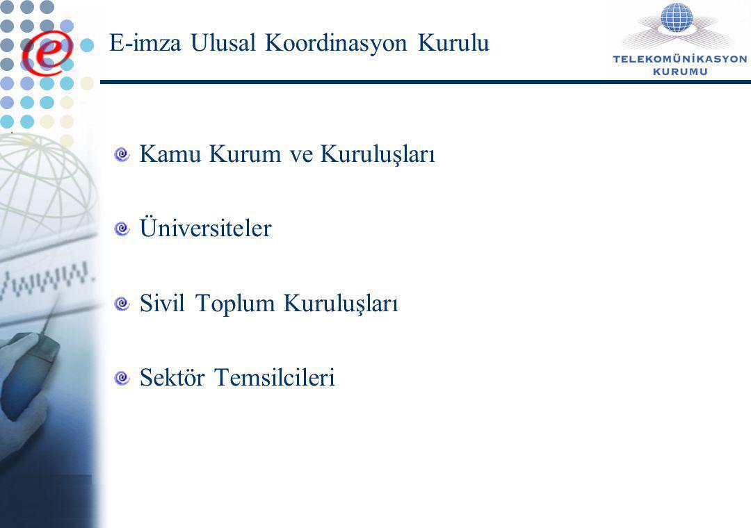 E-imza Ulusal Koordinasyon Kurulu