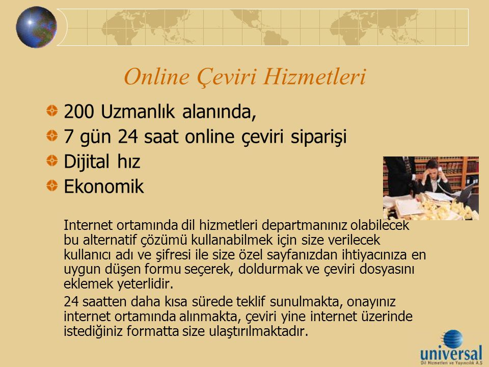 Online Çeviri Hizmetleri