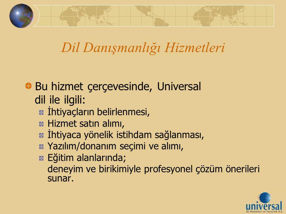 Dil Danışmanlığı Hizmetleri