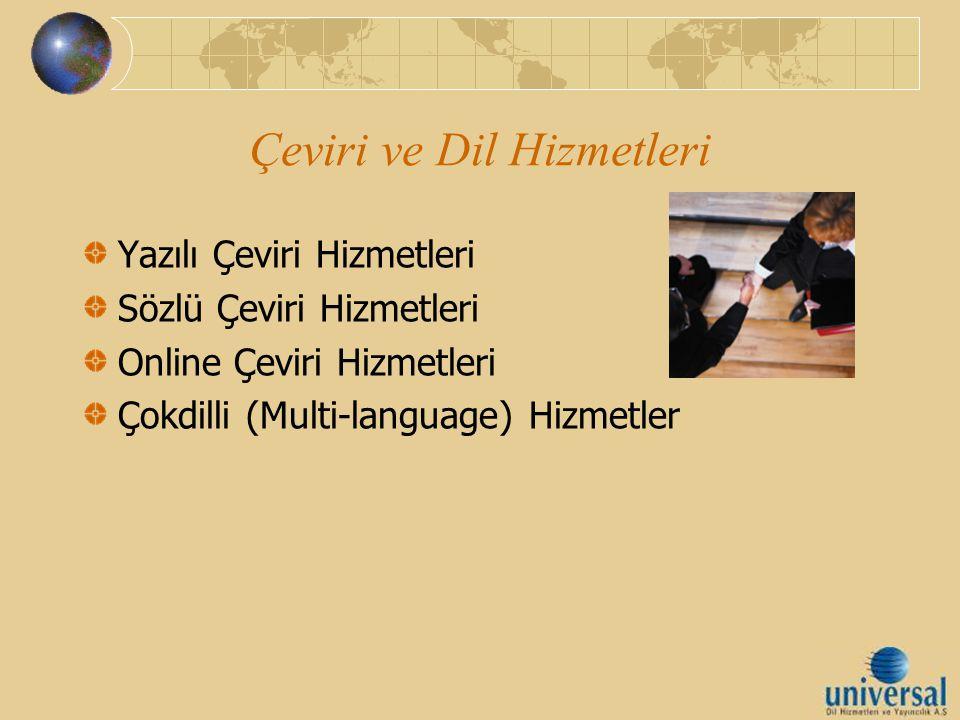 Çeviri ve Dil Hizmetleri