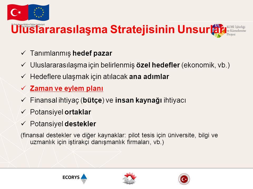 Uluslararasılaşma Stratejisinin Unsurları