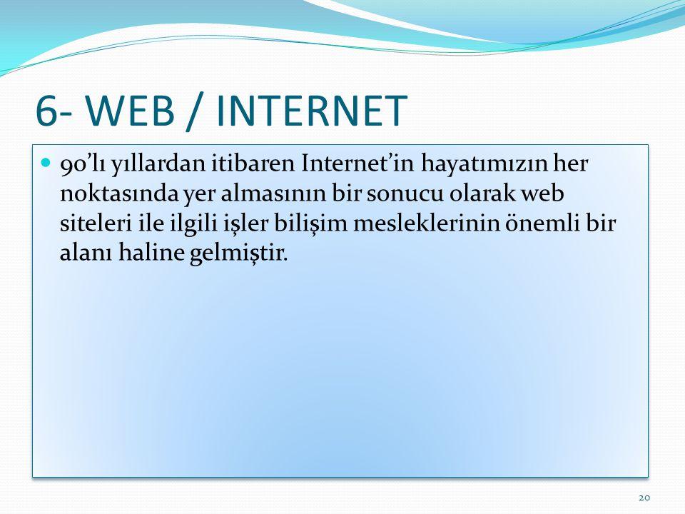 6- WEB / INTERNET