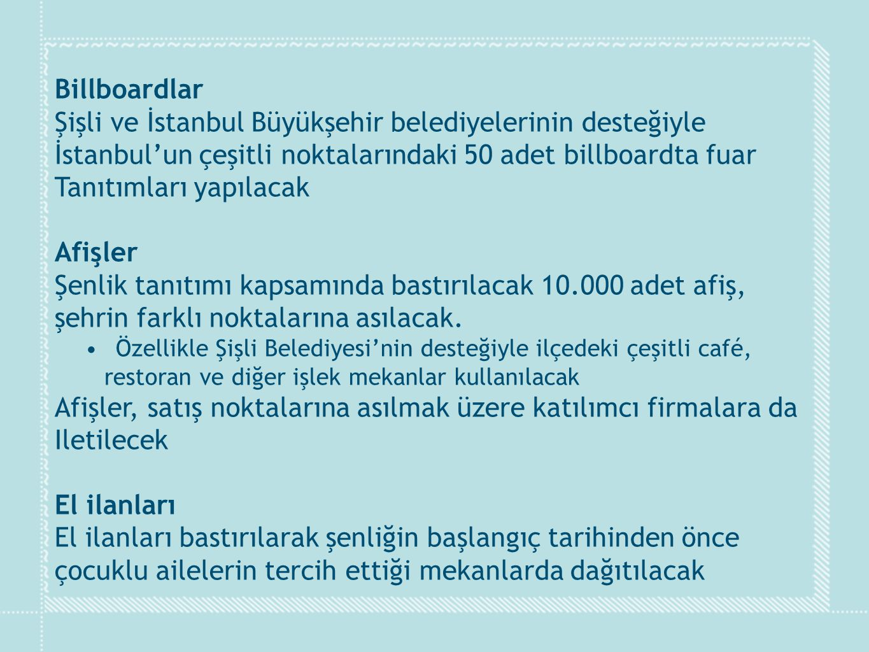 Şişli ve İstanbul Büyükşehir belediyelerinin desteğiyle
