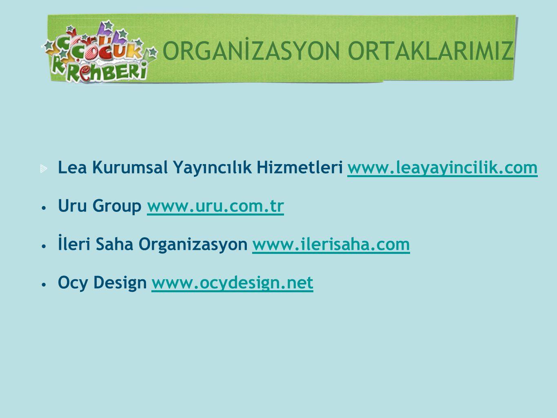 ORGANİZASYON ORTAKLARIMIZ