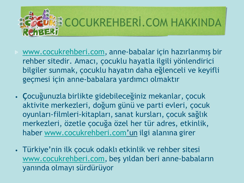 COCUKREHBERİ.COM HAKKINDA