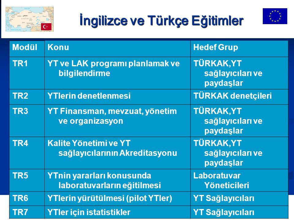 İngilizce ve Türkçe Eğitimler