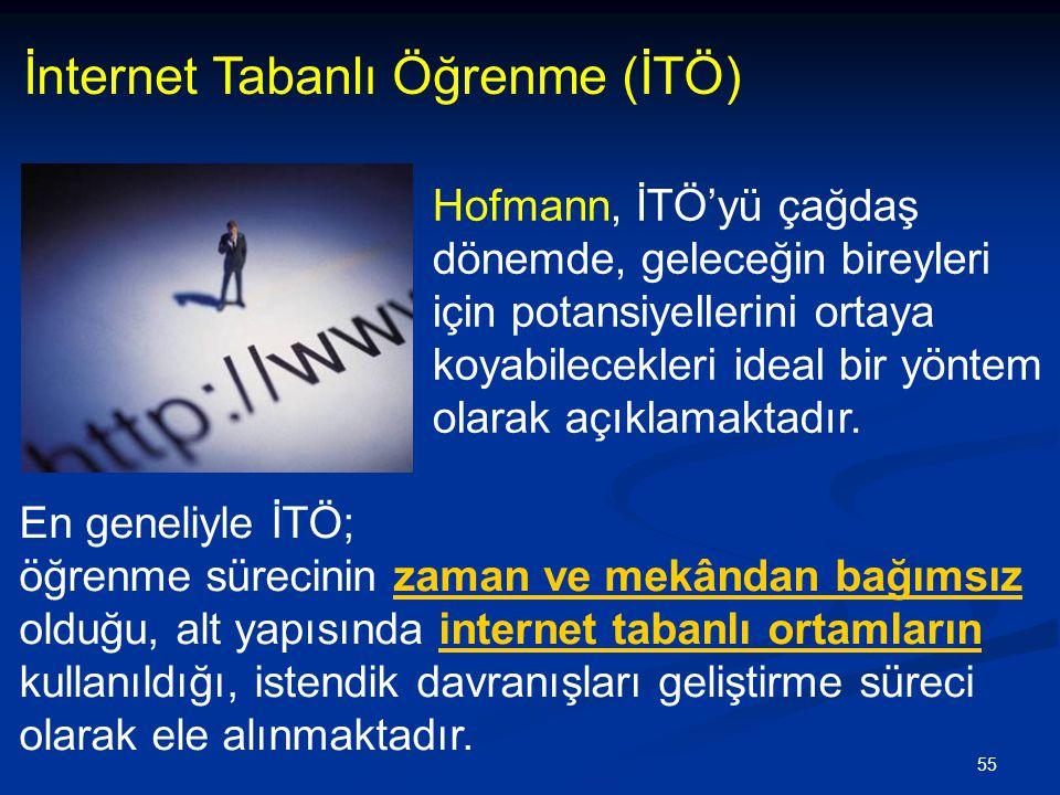 İnternet Tabanlı Öğrenme (İTÖ)
