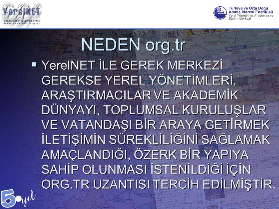 NEDEN org.tr