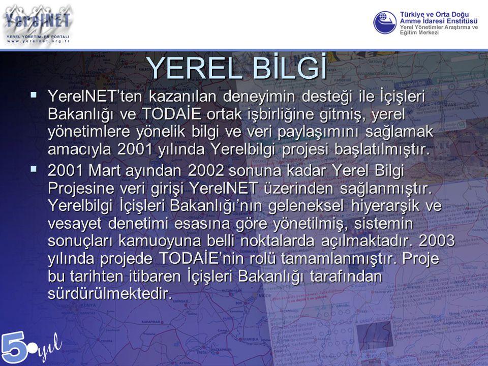YEREL BİLGİ