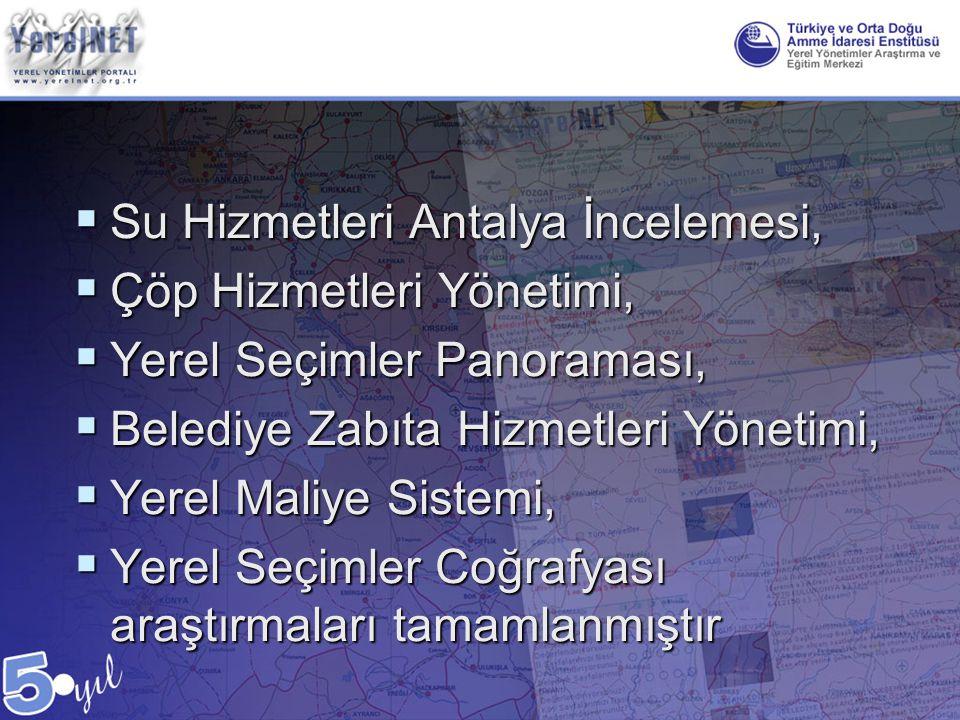 Su Hizmetleri Antalya İncelemesi,