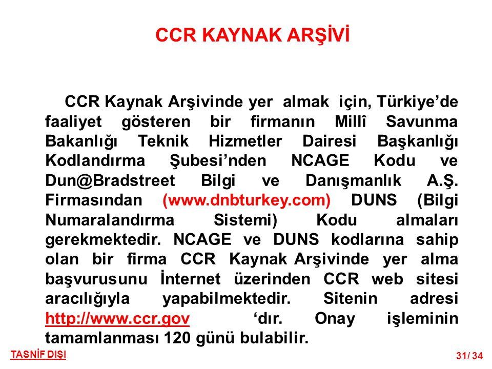 CCR KAYNAK ARŞİVİ