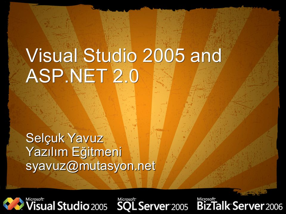 Visual Studio 2005 and ASP.NET 2.0