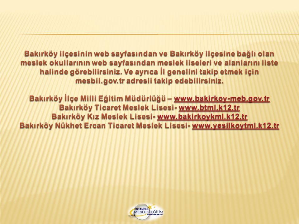 Bakırköy İlçe Milli Eğitim Müdürlüğü – www.bakirkoy-meb.gov.tr