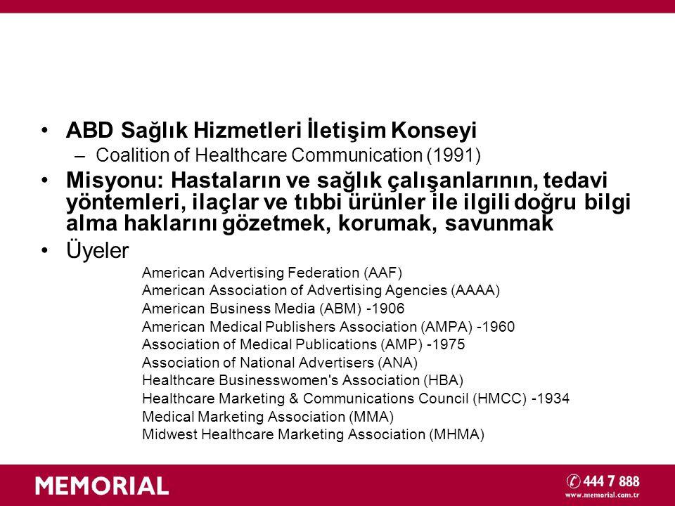 ABD Sağlık Hizmetleri İletişim Konseyi