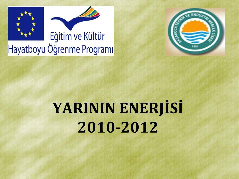 YARININ ENERJİSİ 2010-2012