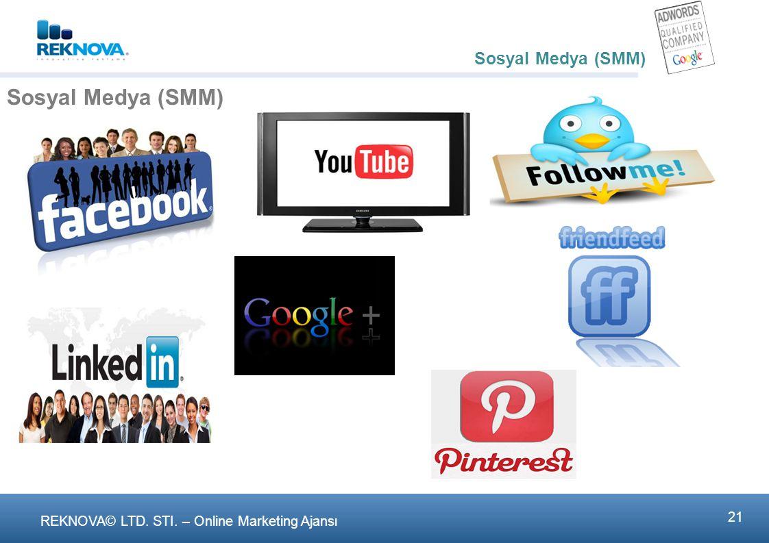 Sosyal Medya (SMM) - SEO/SEM ve SMM pazarlamada inkar edilemez bir gerçek oldu ve pazarlamanın doğasını değiştirdi.