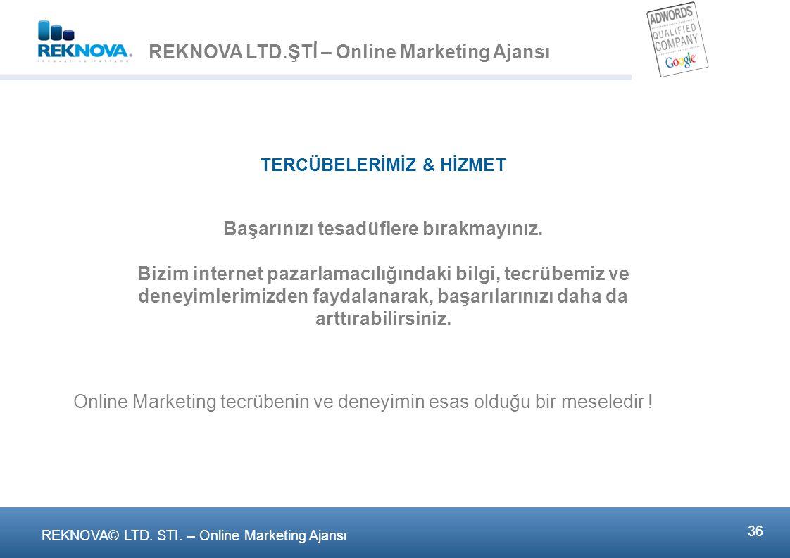 MEKTUPLA / TELEFONLA SİPARİŞ VE E-TİCARET İŞLEMLERİ
