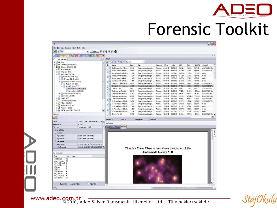 Forensic Toolkit