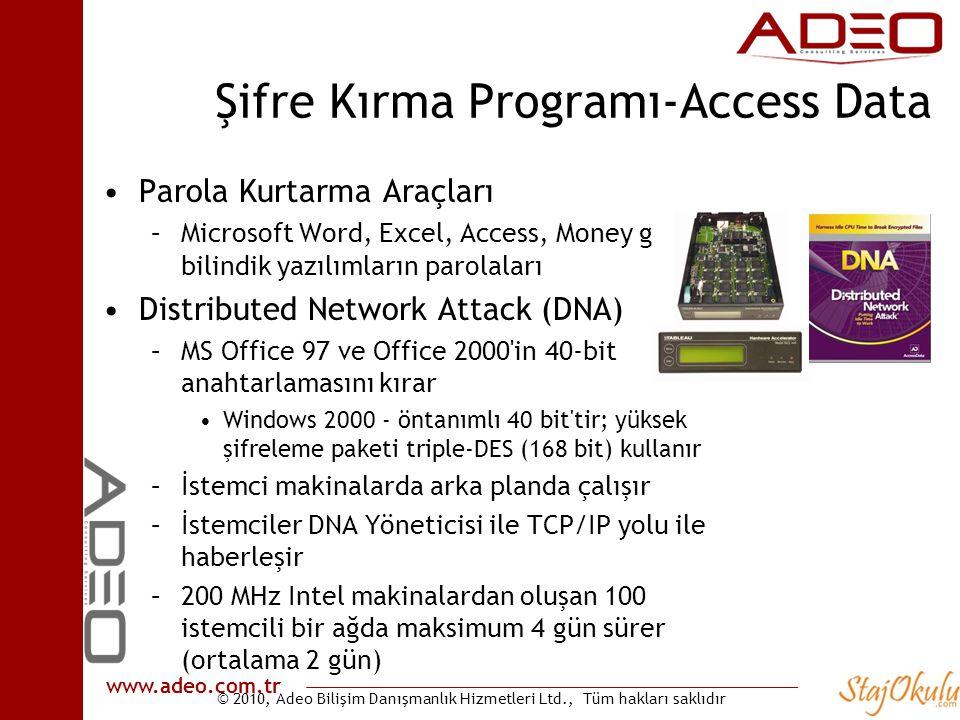 Şifre Kırma Programı-Access Data