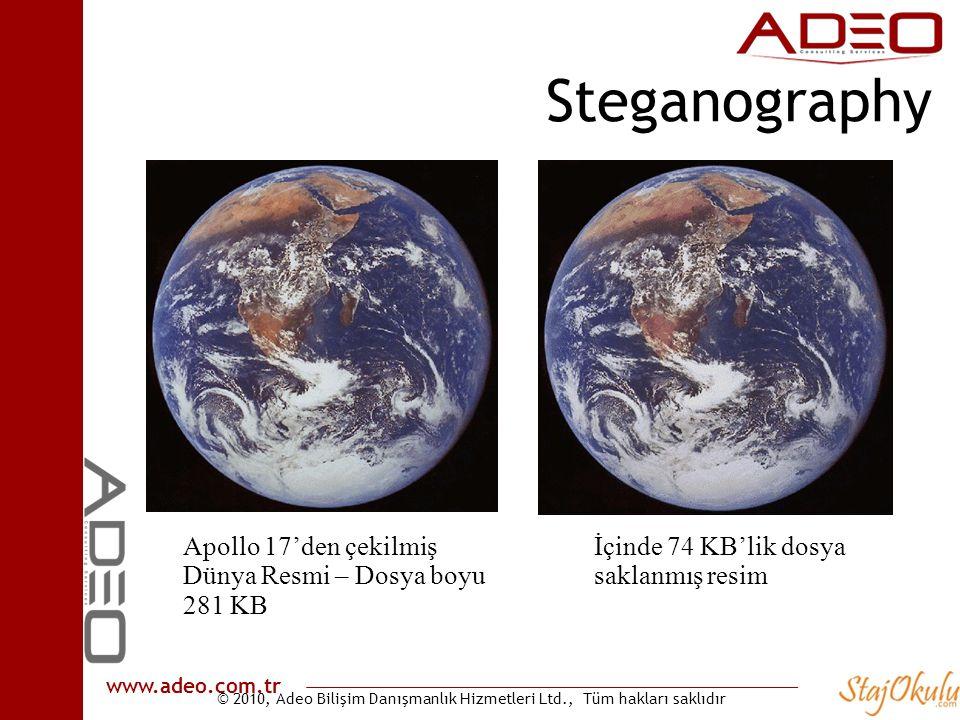 Steganography Apollo 17'den çekilmiş Dünya Resmi – Dosya boyu 281 KB