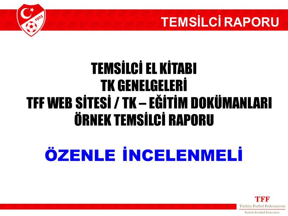 TFF WEB SİTESİ / TK – EĞİTİM DOKÜMANLARI