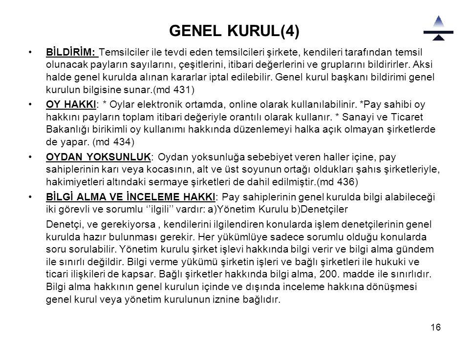 GENEL KURUL(4)