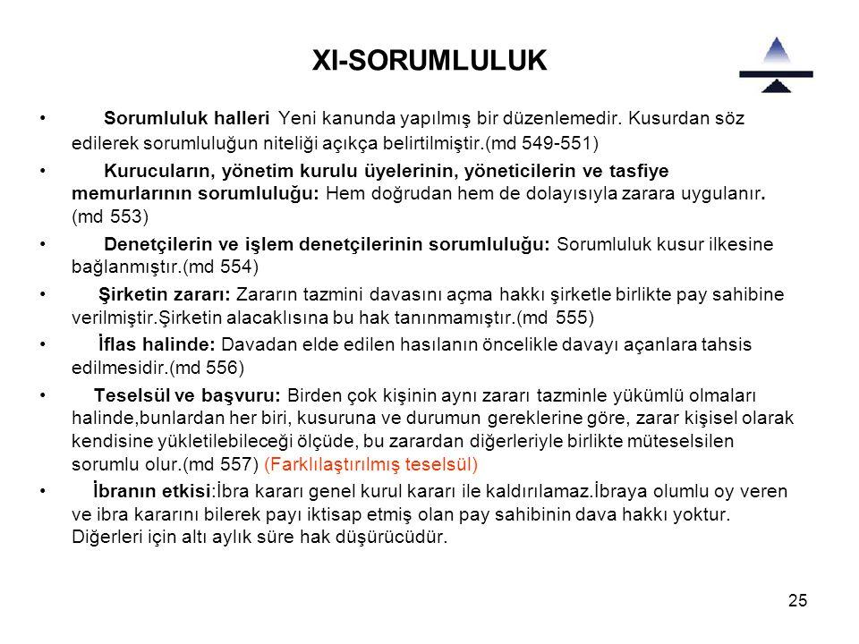 XI-SORUMLULUK