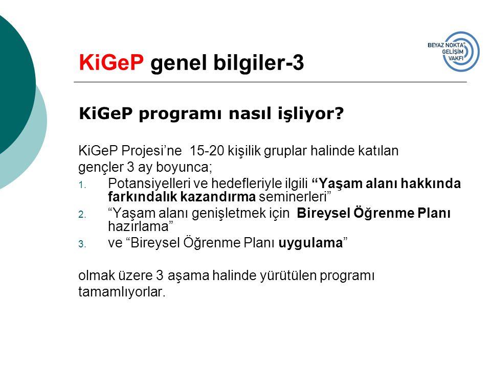 KiGeP genel bilgiler-3 KiGeP programı nasıl işliyor