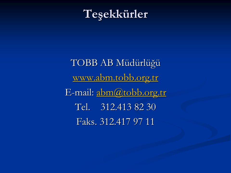 E-mail: abm@tobb.org.tr
