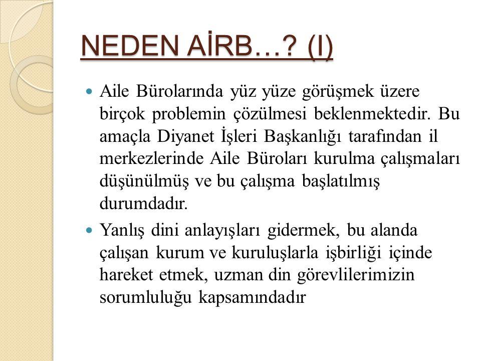 NEDEN AİRB… (I)