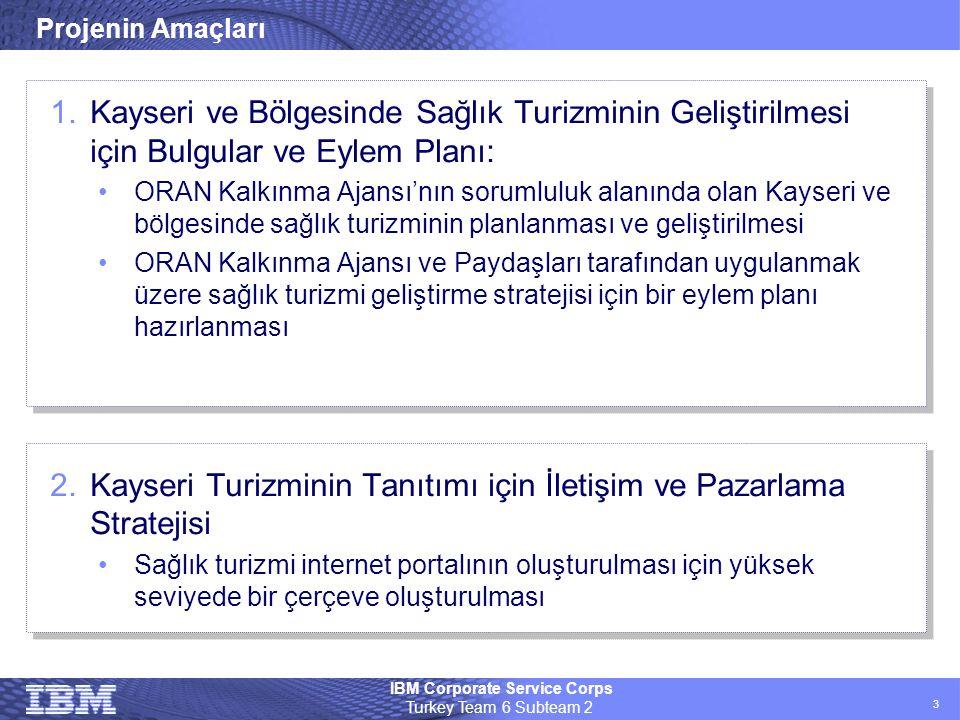 Kayseri Turizminin Tanıtımı için İletişim ve Pazarlama Stratejisi