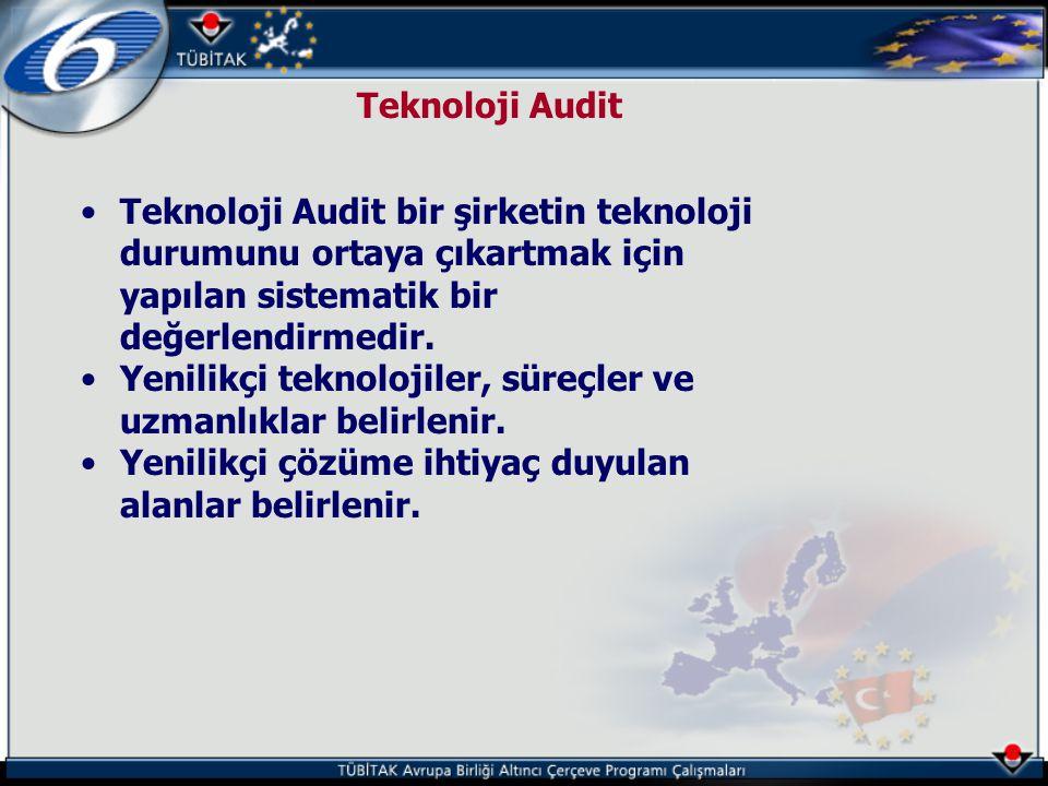 Teknoloji Audit Teknoloji Audit bir şirketin teknoloji durumunu ortaya çıkartmak için yapılan sistematik bir değerlendirmedir.