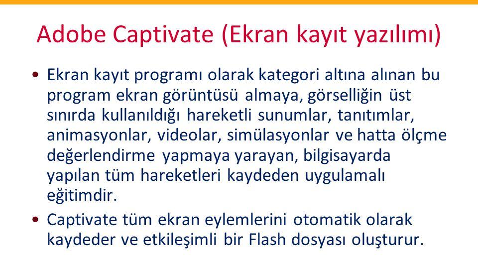 Adobe Captivate (Ekran kayıt yazılımı)