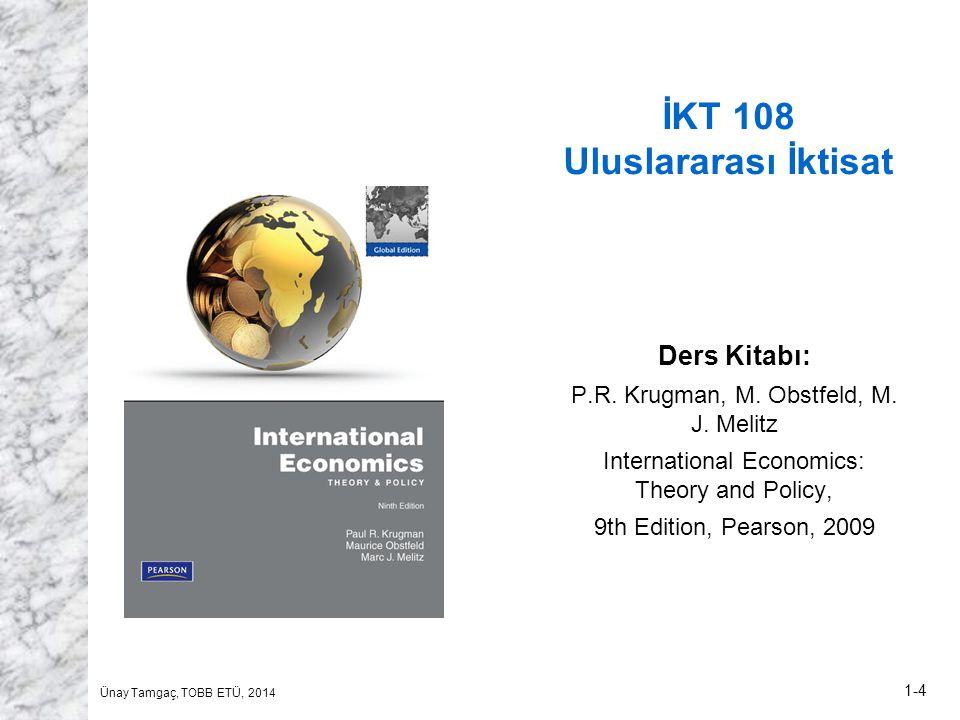 İKT 108 Uluslararası İktisat
