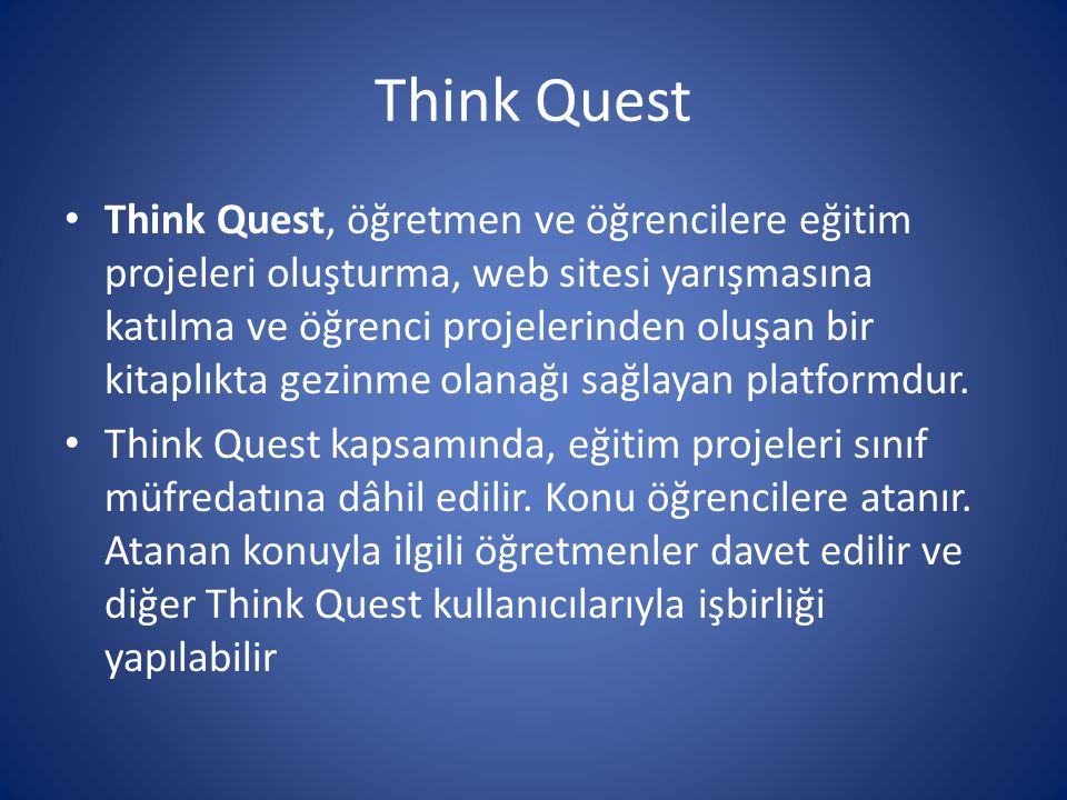 Think Quest