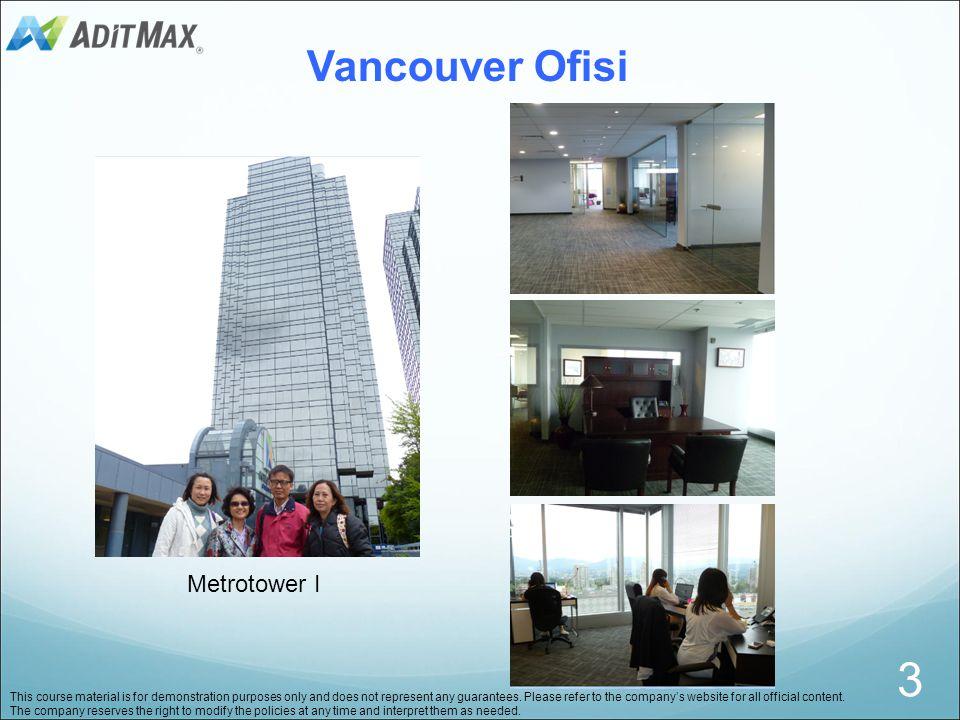 3 Vancouver Ofisi Metrotower I