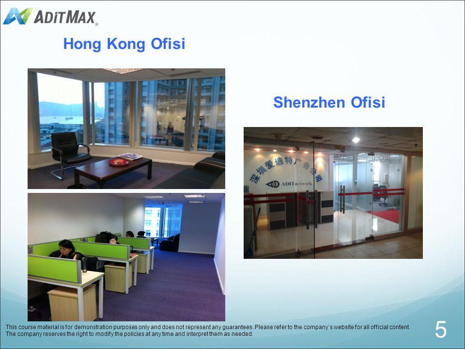 5 Hong Kong Ofisi Shenzhen Ofisi