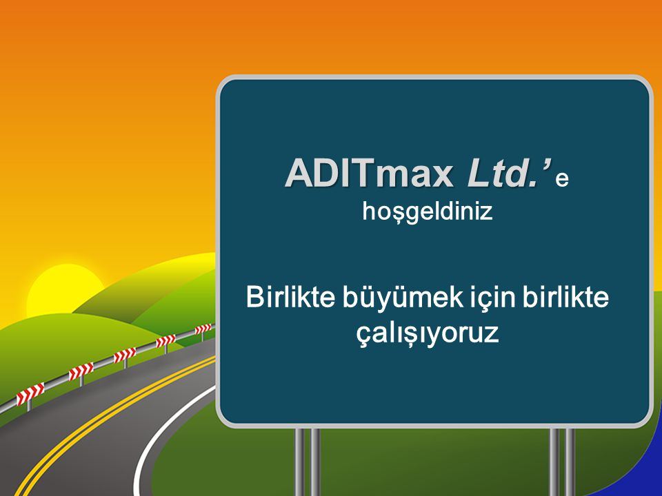 ADITmax Ltd.' e hoşgeldiniz